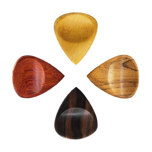 Groovy Tones Mixed Pack of 4 Guitar Picks